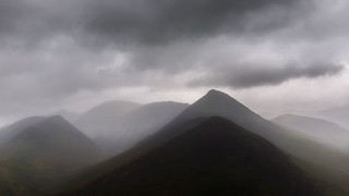 'Threatening', Causey Pike from Catbells, Lake District