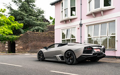 1 of 15 (Alexbabington) Tags: lamborghini reventon roadster grey london
