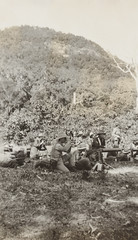 Australian troops training at Palm Island, 1914, F. S. Burnell, PXA 2165 (State Library of New South Wales collection) Tags: worldwari german new guinea 1914 australian naval military expeditionary force navy training palm island pacific hmas berrima
