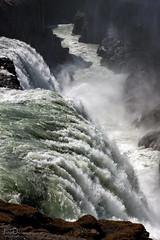 gullfoss | iceland (John FotoHouse) Tags: republicoficeland iceland waterfall landscape water colour copyrightjdolan color travel canon gulfoss 40d fb