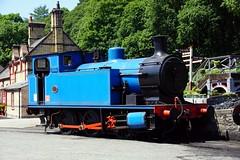 Andrew Barclay No. 1245, Lakeside and Haverthwaite Railway, Haverthwaite. 27.06.2018. (Laurie Mulrine) Tags: andrewbarclay no1245 lakesideandhaverthwaiterailway haverthwaite