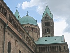 Speyer(Spire) (Micheline Canal) Tags: allemagnerhénaniepalatinat speyre spire chateau ruines église architecture