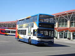 Stagecoach 17738 Mansfield (Guy Arab UF) Tags: stagecoach east midlands 17738 ym52uov dennis trident alexander mansfield bus station nottinghamshire buses