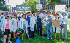 2018.06.30 WhiteCoats4FamiliesBelongTogether, Washington, DC USA 04251