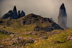Old Man of Storr (Isle of Skye) (Frank-Martens) Tags: highlands wolken oldmanofstorr phänomen mountains berge schottland scotland isle skye