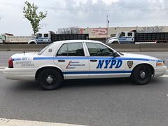 NYPD Highway Patrol Unit #1 Ford Crown Victoria Police Interceptor Slicktop RMP #5846. (Finest 3100) Tags: thebronx manhattan radiomotorpatrol transportationbureau highwaypatrolunit1 nypd