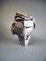 Joker - Neelesh Kumar (Rui.Roda) Tags: origami papiroflexia papierfalten masque mascara mask joker neelesh kumar