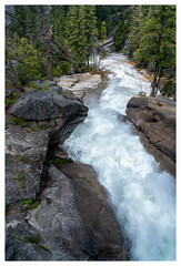 The Silver Apron (Paulemans) Tags: 2018usavacation yosemitenationalpark yosemite silverapron themisttrail paulemans paulderoode waterfalls nikvivenza
