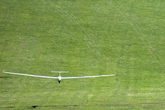 Landing (stephengg) Tags: dunstable downs london gliding club beds bedfordshire glider grass field landing