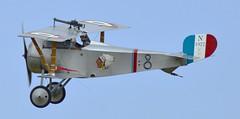 Nieuport 17 N1977 G-BWMJ (Fleet flyer) Tags: nieuport17n1977gbwmj nieuport17n1977 nieuport17gbwmj nieuport17 nieuport 17 n1977 gbwmj french firstworldwar greatwar scout shuttleworthcollection shuttleworth bedfordshire oldwarden