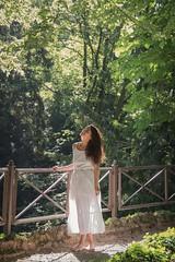 Parco di Monza (valeriaconti136) Tags: parcodimonza ragazza foresta piante verde lombardia canoneos80d