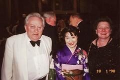 Bernard Davies, Akiko Sato & Pam Bruxner (photo courtesy of Akiko Sato)