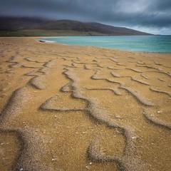 Scarista Scars (www.yabberdab.com) Tags: scarista beach sand patterns