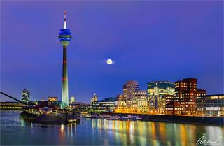 Mediahafen, Düsseldorf, Germany