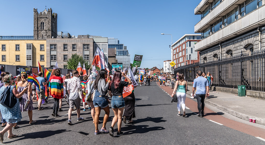 ABOUT SIXTY THOUSAND TOOK PART IN THE DUBLIN LGBTI+ PARADE TODAY[ SATURDAY 30 JUNE 2018] X-100016