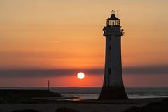 Perch Rock Lighthouse (David Chennell - DavidC.Photography) Tags: wirral merseyside newbrighton perchrock lighthouse twilight goldenhour