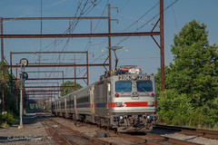 End Of An Era (Darryl Rule's Photography) Tags: 2018 acs64 aem7 amtrak bomberset brynmawr buckscounty catenary citiessprinter clouds cloudy delawarecounty eastbound electric inbound july keystonecorridor keystoneservice mainline neshaminyfalls outbound pa prr passenger passengertrain pennsy pennsylvania pennsylvaniarailroad railroad railroads readinglines readingrailroad septa spax summer sun sunny tower train trains villanova westbound