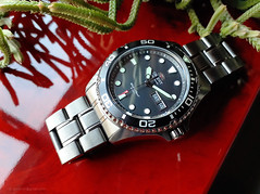 Orient Ray Raven II . Automatic watch Diver's 200m (antarc foto) Tags: orient ray raven ii automatic watch divers 200m caliber f6922