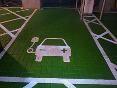 Just Pinned to Car Park Marking: White Lining in Carnetown - We... (outdoorsurfacepainting) Tags: outdoor surface painting
