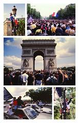 _allez_les_bleus (fot_oKraM) Tags: weltmeister worldchampion championdumonde fusball soccer football paris champselysees 1998 france