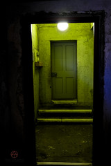 Kilmainham Gaol (tim_asato) Tags: timasato kilmainhamgaol jail prision miedo creepy scary green verde door dublin ireland irlanda light luces