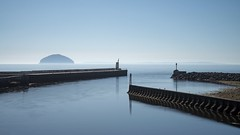 Three defences. Girvan (malcolmmartin1211) Tags: girvan ailsacraig seascape seadefences harbour