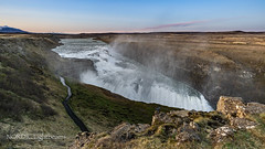 Iceland - The Golden Falls  I (NORDIC Lightbeams) Tags: samyang12mmf20 gullfoss wasserfall island manuellesobjektiv goldencircle gullnihringurinn iceland manuallens primelens waterfall