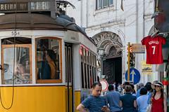 Ronaldo Fever in Lisbon, Portugal (sharon.verkuilen) Tags: lisbon portugal worldcup streetcar sonya7rii