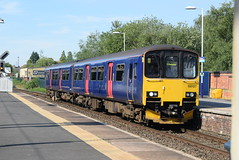 NT 150127 @ Altrincham Interchange (ianjpoole) Tags: northern rail class 150 sprinter 150127 working 2d54 stockport chester