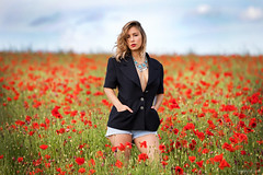 Ruby (henrychristo27 (Christophe)) Tags: ruby portraiture sensuality coquelicot fleur femme rouge