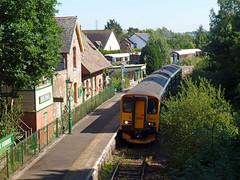 150234 Bere Ferrers (Marky7890) Tags: gwr 150234 class150 sprinter 2g77 bereferrers railway devon tamarvalleyline train