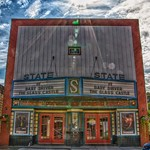 Tupper Lake New York - State Theatre  - 100 Park Street - Adirondack Mountains - Historic thumbnail