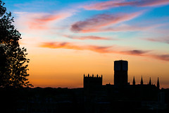 Durham Cathedral Silhouette (huw_thomas06) Tags: silhouette sunset sky cathedral church sun skyline orange sunrise evening cloud clouds spire tower contrast tree worship religion travel landmark famous night nature red landscape dusk horizon building cityscape buildings morning dawn beautiful blue urban city architecture view background twilight town panorama sunlight nikon d7100