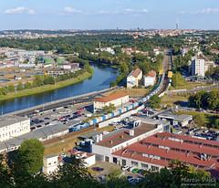 163.257 ČD Cargo, Praha-Podbaba (CZ) (Martin Válek) Tags: rail railway railroad train locomotive zug eisenbahn vlak železnice vltava moldau trať091