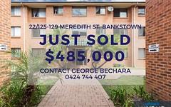 22/125-129 Meredith st, Bankstown NSW