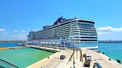 MSC Cruises Divina (Irvine Kinea) Tags: msc divina regent seven seas explorer cruise passenger cargo transportation thomson marella discovery sea cloud celebration carnival port harbor europe international pacific globe earth sailing route travel excursions spain italy france greece croatiagenoa terminal world adventure ocean captain pilot guests knots relaxation moby superman crociere deck