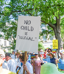 2018.06.30 WhiteCoats4FamiliesBelongTogether, Washington, DC USA 04263