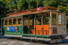 Cable Car, a San Francisco Treat (MelRoseJ) Tags: sanfrancisco california unitedstates us cablecar bayarea northerncalifornia sonyalpha sony hdr a77ii