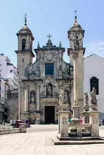 Church of Saint George/Igrexa de San Xurxo (La Coruna, Spain)