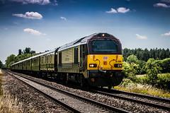 67 @ Pirton (1 of 1) (steamnut777) Tags: class67 pirton worcestershire pullman belmondbritishpullman