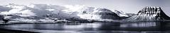 Iceland (a.penny) Tags: iceland island panorama monochrome grundarfjörður kirkjufell mountain snæfellsnesvegur apenny nikon d300