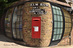 NW3 26 postbox on Elm Row and Heath Street (louisemarston) Tags: london uk postbox pillarbox hampstead nw3