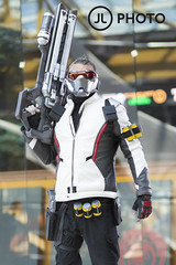 Future Soldier 2 (MecCanon [Insta: JLPhotoOfficial]) Tags: cosplay saltcitycomiccon syracuse newyork cosplayer canon80d 85mmf18 soldier76 overwatch