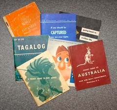 WW-2 U.S. Manuels & Information (Pacific Kilroy) Tags: ww2 wwii us army soldier personal relic artifact militaria memorabilia worldwarii personalitems pacifictheater book pamphlet manuel guide tagalog philippines australia newzealand japanese