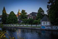 St. Johannes Kloster (max.stolbinsky) Tags: river sunset kloster alster hamburg hh