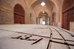 Sundial, Qazvin (blondinrikard) Tags: iran persia qazvin travel tourism sundial details dof