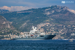 Andromeda - 107m - Kleven (Raphaël Belly Photography) Tags: rb raphaël monaco raphael belly photographie photography yacht boat bateau superyacht my yachts ship ships vessel vessels sea ulysses andromeda kleven grey gris grise grigio white blanc biano 107m 107 m imo 9692545 mmsi 319879000
