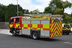 VX60 AHN (Emergency_Vehicles) Tags: vx60ahn hereford worcester fire rescue