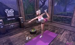 SassyAF Sassy Yoga (PinkangelIndigo) Tags: bootysbeauty catwa hoz maitreya monso sassyaf stefsserenityyogastudio tetra zoz