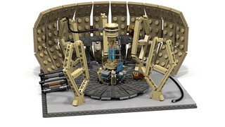9th/10th Doctor's Tardis (render)